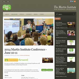 Martin Institute for Teaching Excellence Website (2007)