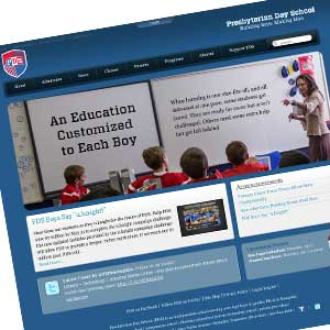 Presbyterian Day School Website - Previous Version